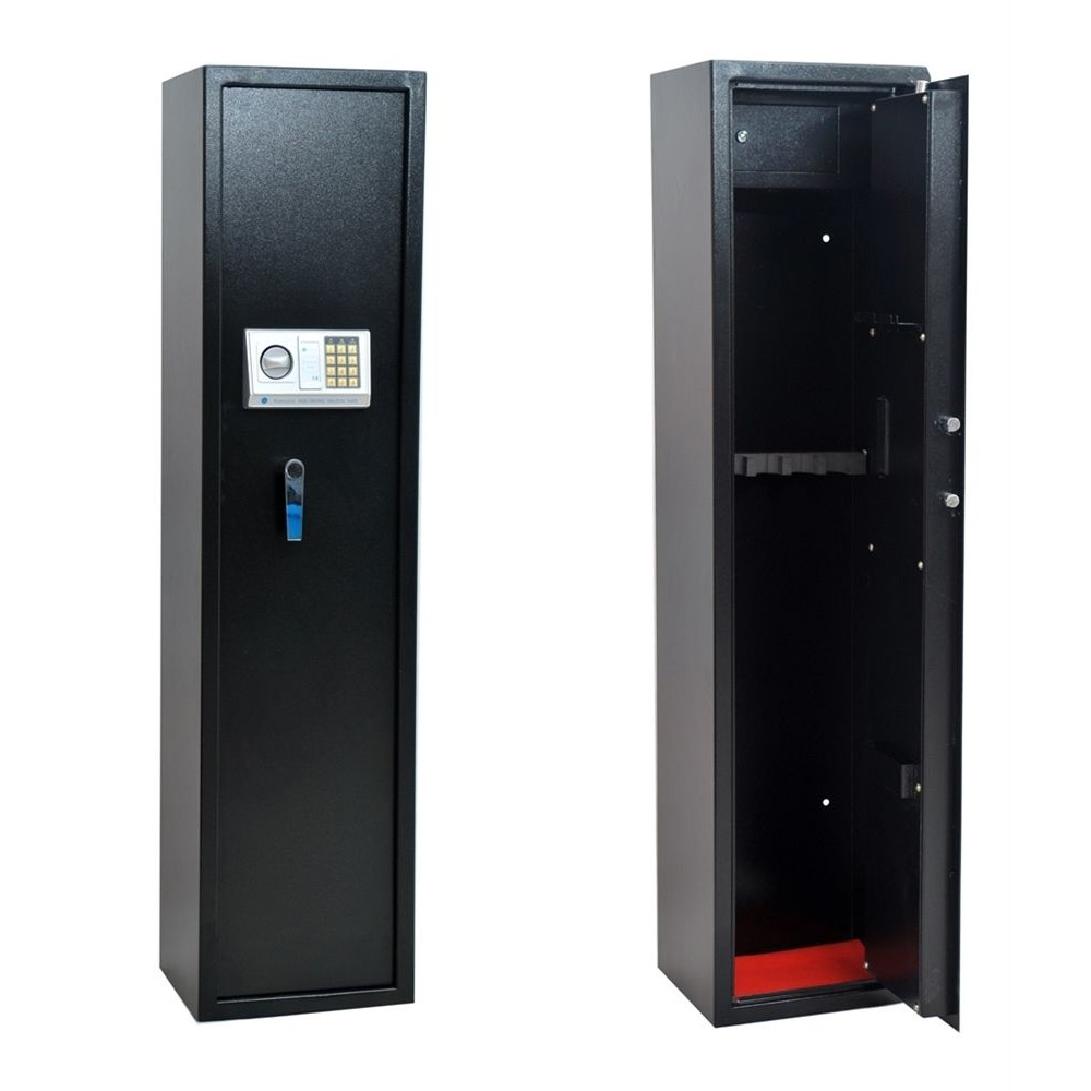 Homegear 5 Rifle Electronic Gun Safe with Internal Lockbox for Jewelry/Valuables