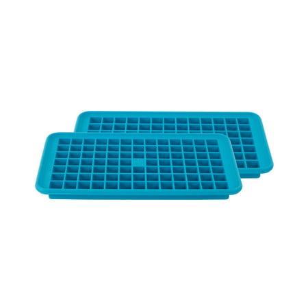 Casabella Mini Cube Ice Trays, Blue, 2 Ct