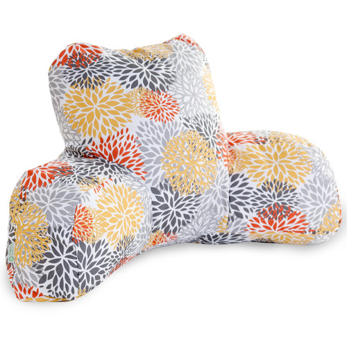 Majestic Home Goods Blooms Indoor/Outdoor Bed Rest Pillow