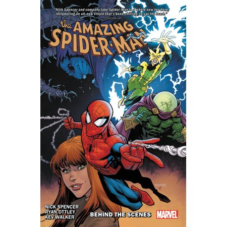 Amazing Spider-Man By Nick Spencer Vol. 5 : Behind the Scenes Marvel Scene It