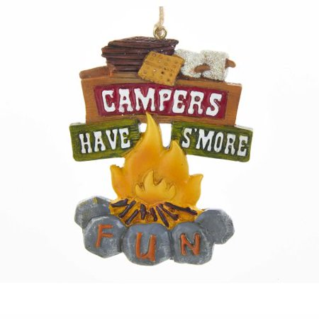 Campers Have S'more Fun Christmas Tree - Fun Christmas Ornaments