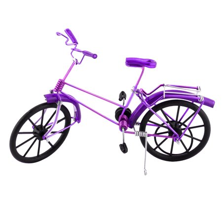 Handmade Craft Table Ornament Collection Figurine Toy Bicycle Model Decor (Figurine Table)