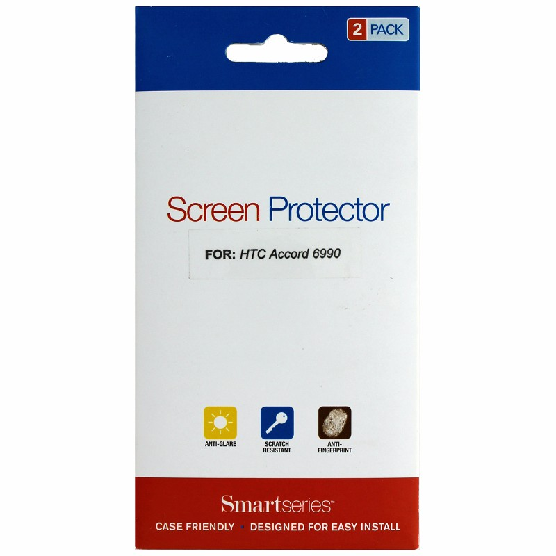 Smartseries 2-pack Screen Protector for HTC Accord 6990