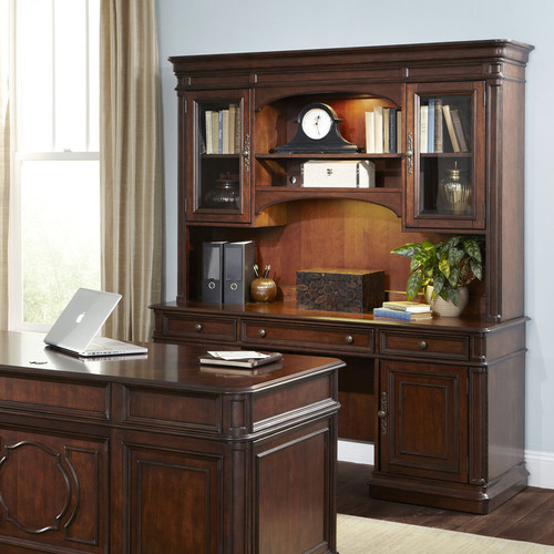 August Grove Ethyl China Cabinet Hutch by