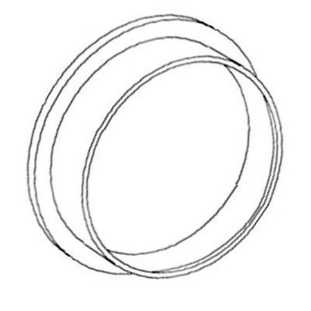 99472 New Rear Crankshaft Seal for Ford New Holland 2000