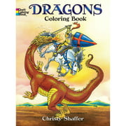 Dover Coloring Book, Dragons