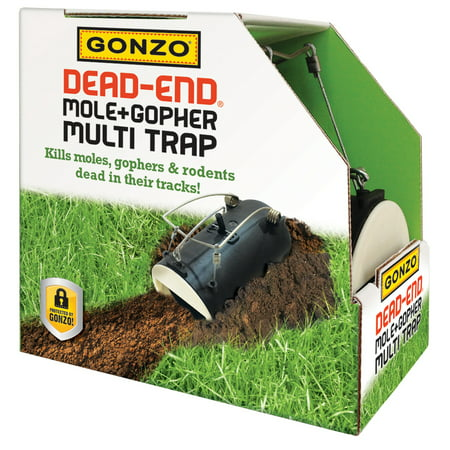 Gonzo Dead-End Mole and Gopher Multi Trap