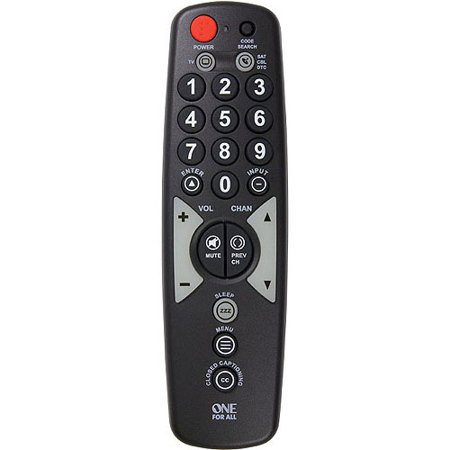 RCA OARH02B Big-Button 2-Device Remote