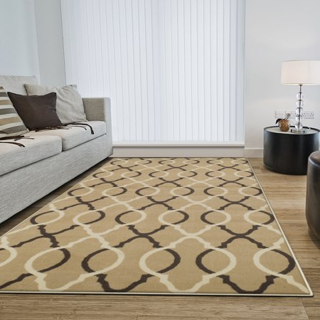 Sisal Rug Jute Backing (Superior Cadena Collection with 8mm Pile and Jute Backing, Moisture Resistant and Anti-Static Indoor Area Rug )