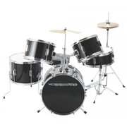 On-Stage DKJ5500-GB 5-Piece Junior Drum Set, Gloss Black