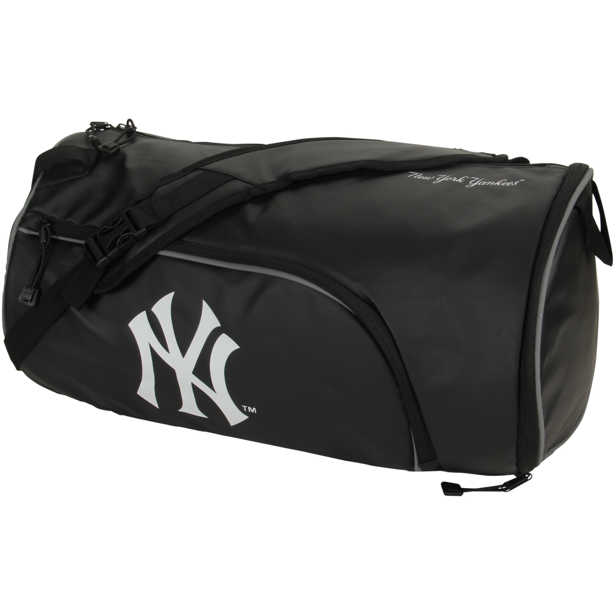 New York Yankees The Northwest Company Squadron Duffel Bag - Black - No Size