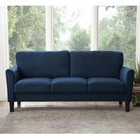 Taylor Fabric Sofa, Navy Blue