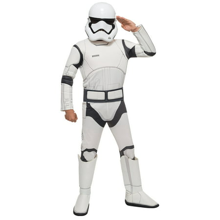 Star Wars: The Force Awakens - Stormtrooper Deluxe Child Costume - Star Wars Cheap Costumes