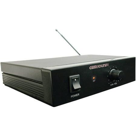 - Gem Sound GMW-1 Single-Channel Wireless Mic System Band H