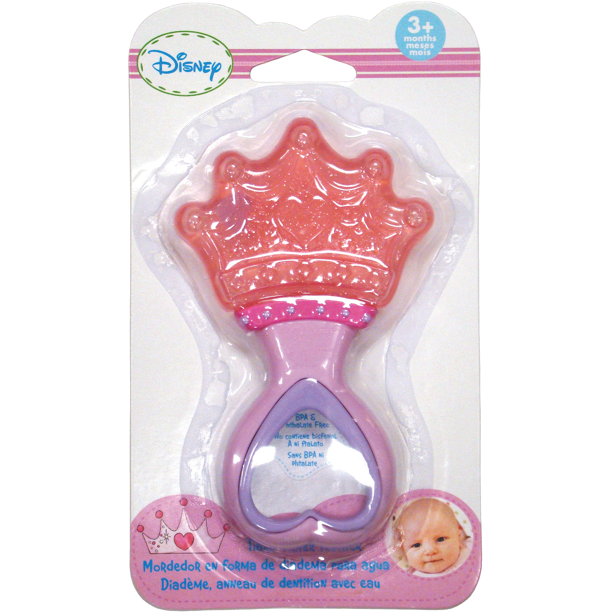 Kids Preferred Disney Baby Disney Princess Tiara Water Teether