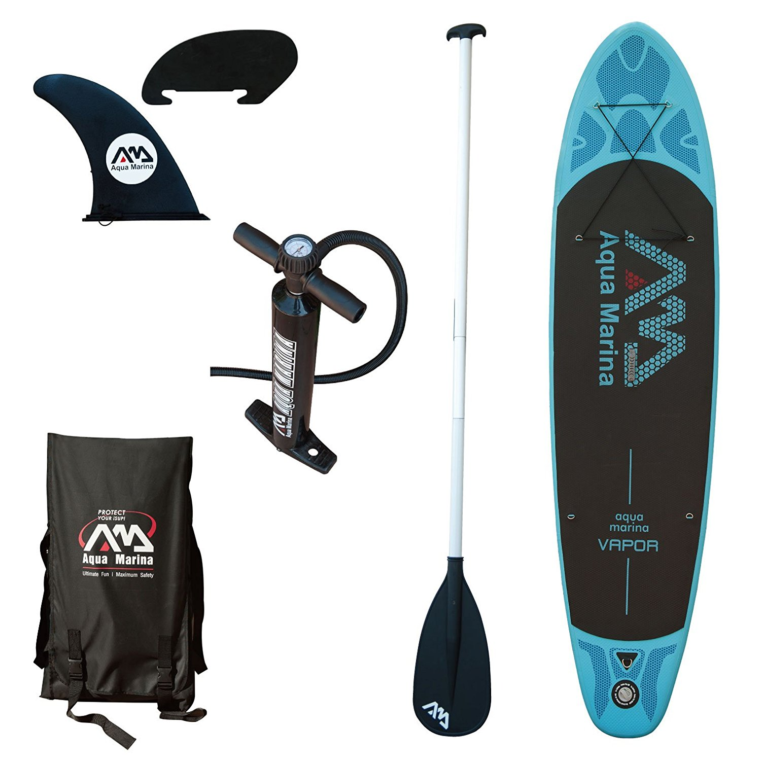 Click here to buy Aqua Marina Vapor Stand Up Paddle Board by Overstock.