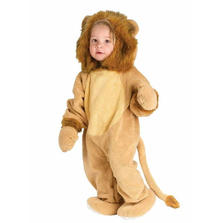 Fun World Infant Boys & Girls Lion Costume Plush Baby Cat Suit