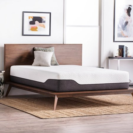 lucid comfort collection 12 inch twin size bamboo charcoal memory foam hybrid mattress. Black Bedroom Furniture Sets. Home Design Ideas