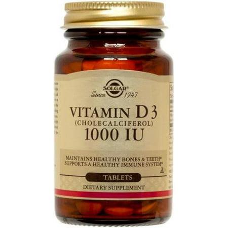 Fuel 180 Tabs - Vitamin D3 1000 IU Solgar 180 Tabs