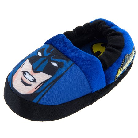 Slippers for Boys. Clothing. Shoes. Kids & Baby Shoes. Slippers for Boys. Showing 48 of results that match your query. Search Product Result. Product - DC Comics Batman Superhero Boys Aline Slippers (Toddler/Little Kid) BMF Product Image. Price $ Product Title.
