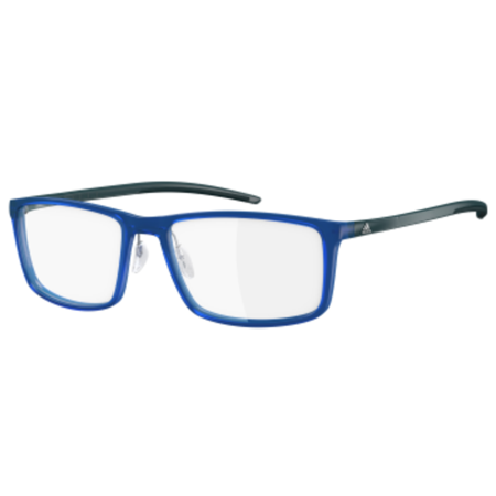 new adidas af46 menswomens designer full rim navy frame demo lenses 56