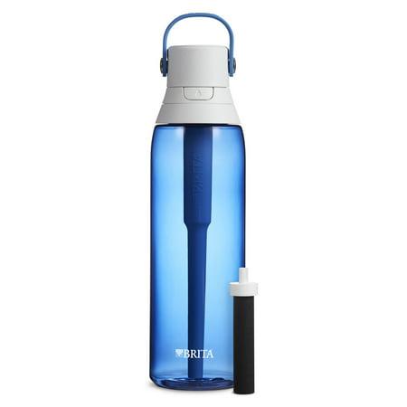 Brita Premium Filtering Water Bottle, 26 oz - Sapphire