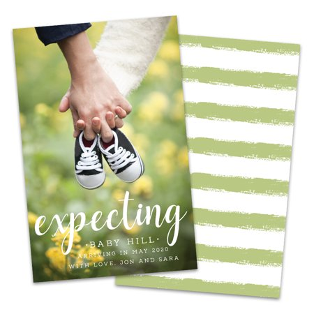Personalized Expecting Photo Pregnancy (Best Pregnancy Announcement Photos)