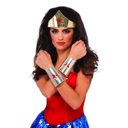 Adult Wonder Woman Halloween Costume, One Size - Adult Wonder Woman Halloween Costume