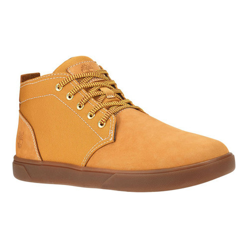 Men's Timberland Groveton Leather and Fabric Chukka Boot by Timberland