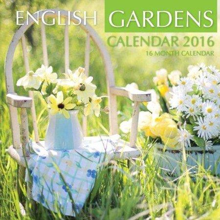 English Gardens Calendar 2016  16 Month Calendar