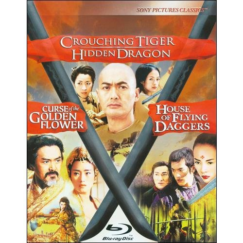 Crouching Tiger Hidden Dragon / Curse Of The Golden Flower / House Of Flying Daggers Trilogy (Blu-ray) (Widescreen)