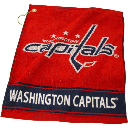 Team Golf NHL Washington Capitals Jacquard Woven Golf Towel