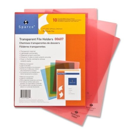 Sparco Transparent File Holder 00607 ()