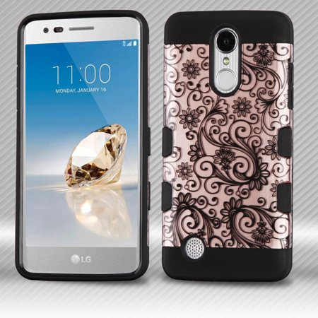 Pc Silicone Hybrid Phone Cover For Lg K4 Cyangrey Intl Cek Harga Source .