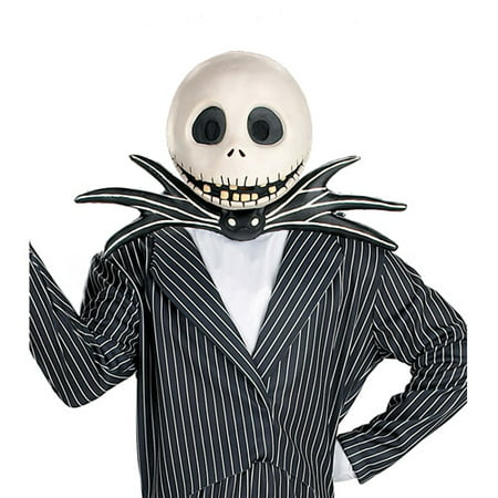 Jack Skellington Mask Adult Halloween Accessory