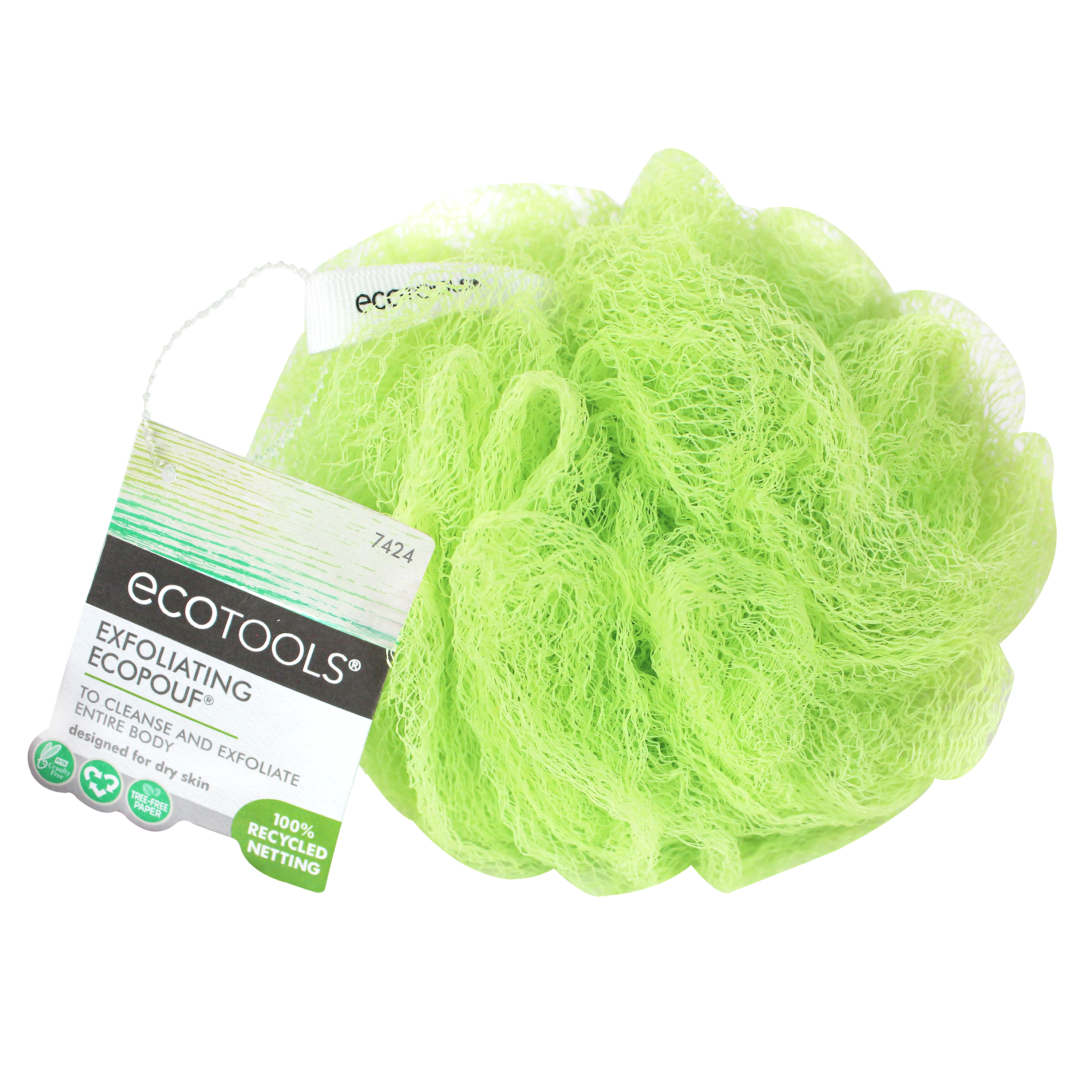 EcoTools Exfoliating Bath Sponge, (color may vary)