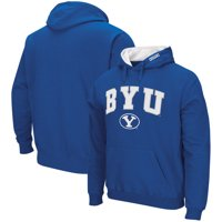 BYU Cougars Colosseum Arch & Logo Pullover Hoodie - Royal