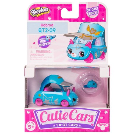 Cutie Car Shopkins Season 2, Single Pack Hatrod 2nd Season Cap