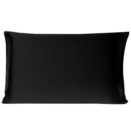 100% Silk Pillowcase Pillow Cover Toddler/King/Standard/Queen 2-Piece (Silk Pillow Cover)