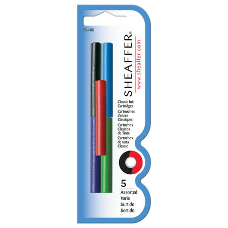 Sheaffer Ink Cartridges, Assorted (Pen Ink Sheaffer)