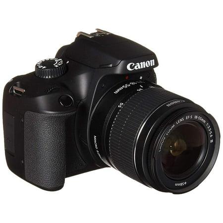 Canon EOS 4000D DSLR Camera EF-S 18-55 mm f/3.5-5.6 III Lens (Intl Model)