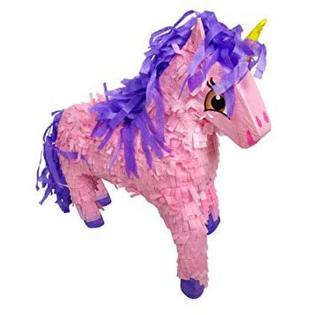 Girl Pinata (Unicorn Pinata, Pink & Purple, 21in x)