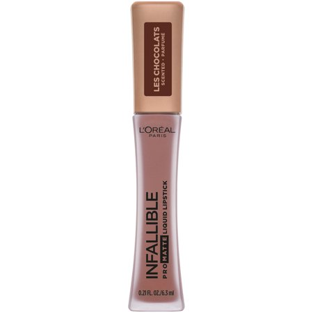 L'Oreal Paris Infallible Pro Matte Les Chocolats Scented Liquid Lipstick, Box O Chocolate (Loreal Infallible Lip Color)