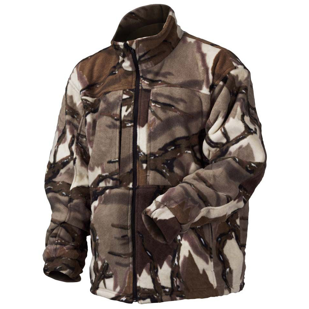 Predator Stealth Fleece Jacket Brown Deception Medium by Predator