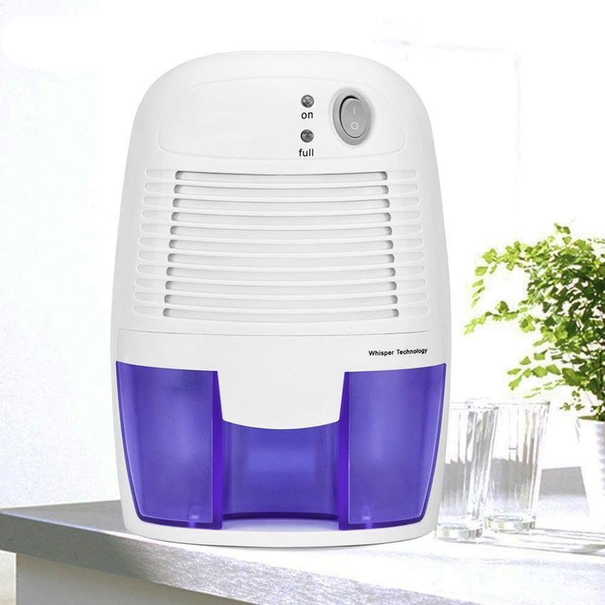 CNMODLE Mini Dehumidifier, Portable Electric Auto Shut off dehumidifiers for Damp Air Mold Moisture in Small Closet Wardrobe Kitchen (Quiet Safe Compact Thermo-electric)