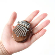 Anself Mini 8 Key Kalimba Portable Thumb Piano Finger Percussion Keyboard Pocket Musical Instrument Toy for Kids Adult