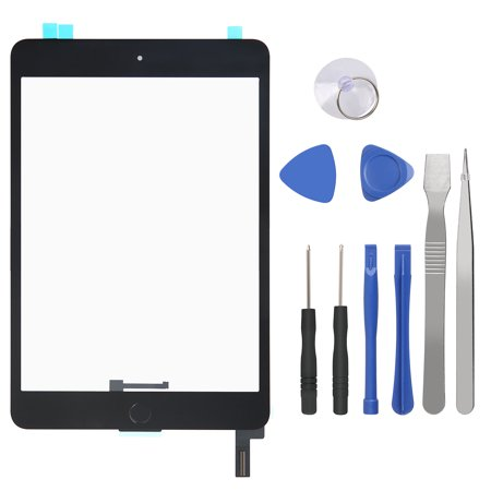 HDE Screen replacement Repair Set for Ipad mini 4 A1538 A1550 with Tool Kit and touch sensetivity