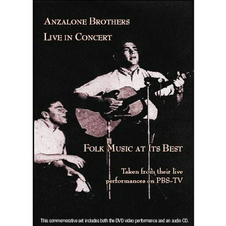 Anzalone Brothers Live in Concert (DVD)