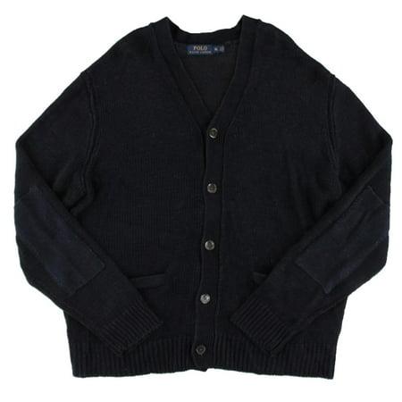 88b39100a Polo Ralph Lauren - Polo Ralph Lauren Mens Knit Button-Down Cardigan Sweater  - Walmart.com