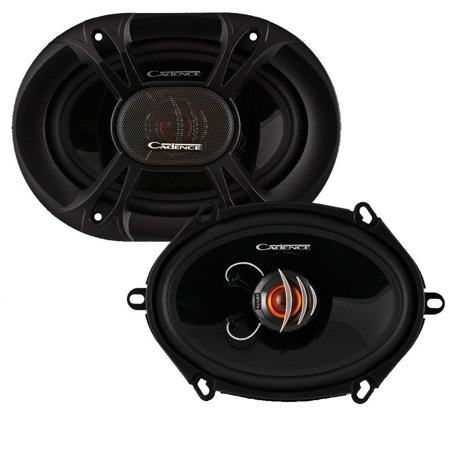 Cadence Xs682 Speaker   50 W Rms   150 W Pmpo   2 Way   2 Pack